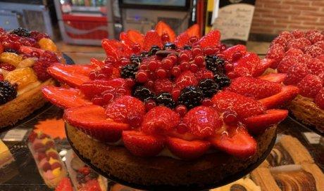 Pâtisseries du moments : la fraise