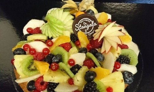 Tarte multifruits 6 personnes